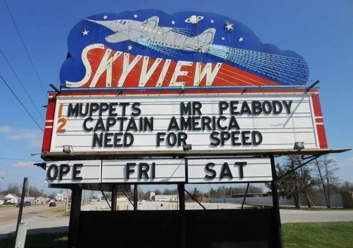 The Skyview Drive-In theater in Belleville, built in 1949 and one of nine Illinois drive-in theaters still in operation, was set to open in May before Gov. J.B. Pritzker extended the stay-at-home order through May 30.