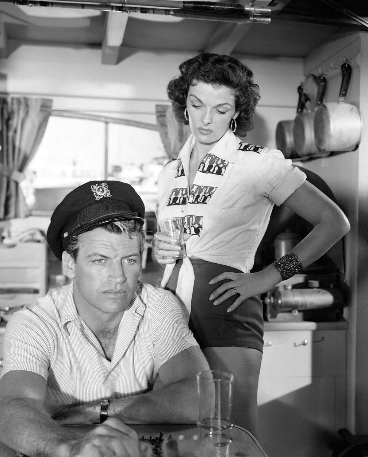 Turner Classic Movies ends its April Monday-night salute to the films of Jane Russell with tonighta€™s lineup including Underwater! (1955) .