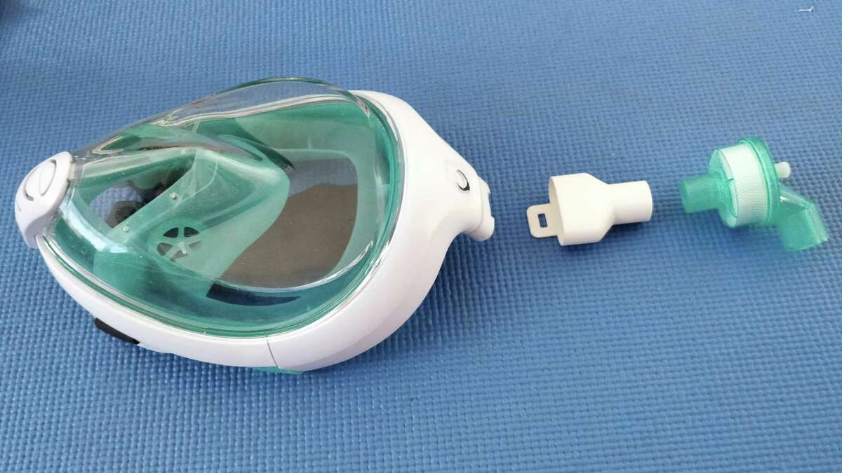 BIC has started production has begun on an adaptor to transform the Decathlon EasyBreath full-face snorkeling mask into COVID-19 personal protective equipment for healthcare workers in hospital reanimation units.