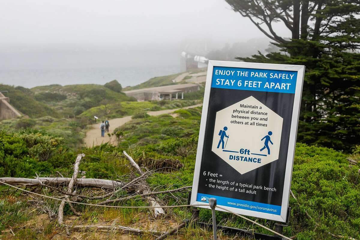 Public health officials had feared spring-like weather over the weekend would cause a rush of people to set aside shelter in place mandates and descend upon public parks and beaches, putting themselves at risk to coronavirus exposure.