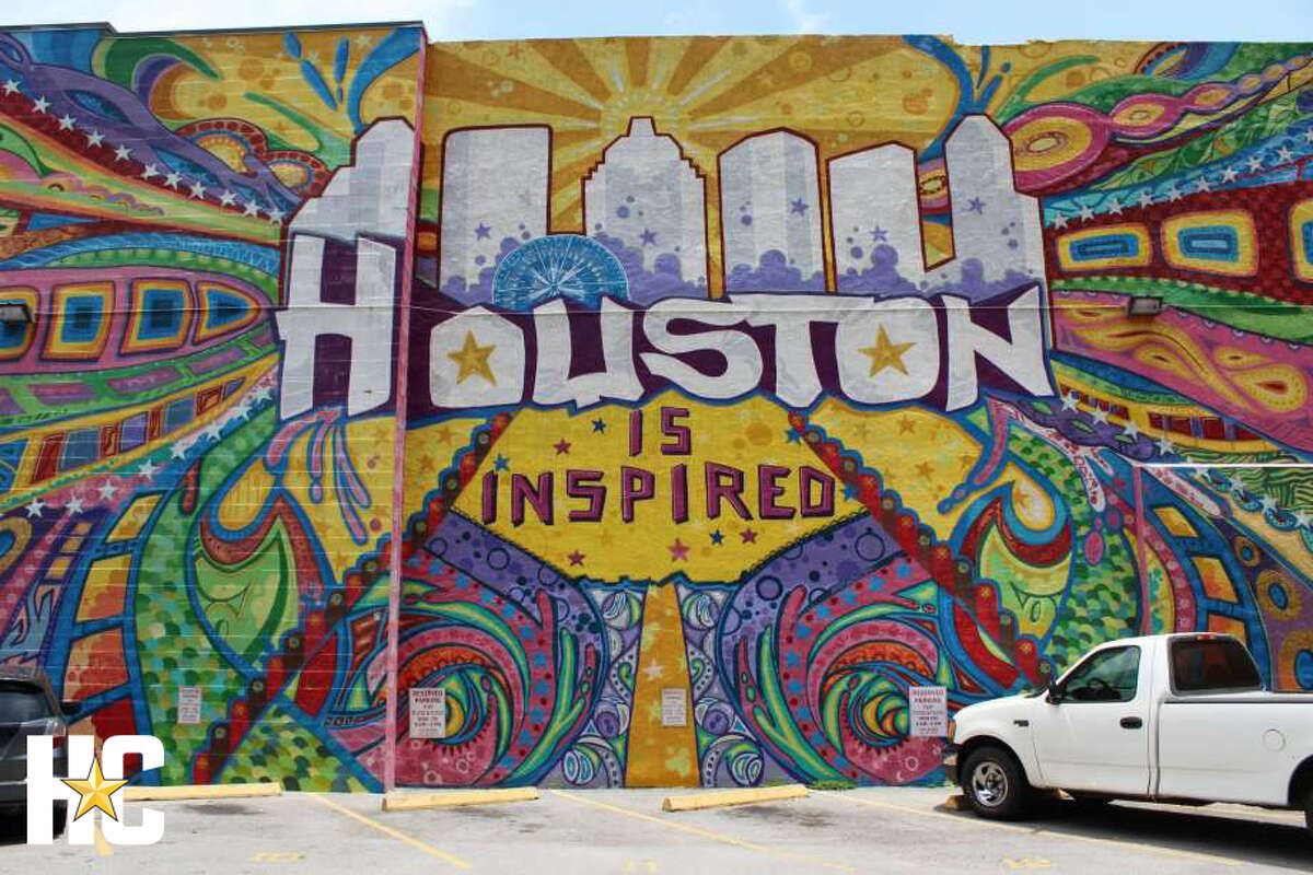 GONZO247's famous mural in downtown Houston.