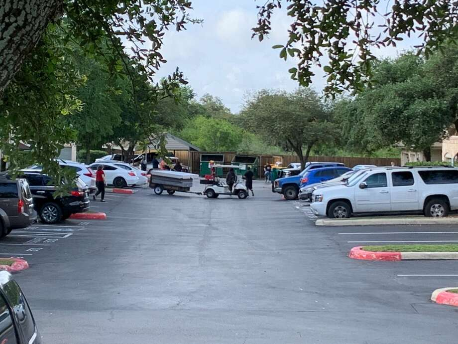 Multiple people were found dead inside an apartment at a North Side complex, according to SAPD. Photo: Mark Dunphy