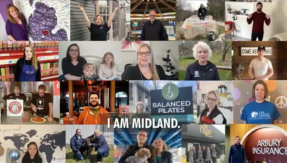 """A screenshot from a collaborate video created as part of Red Threads' """"I Am Midland"""" campaign. Photo: (Photo Provided)"""