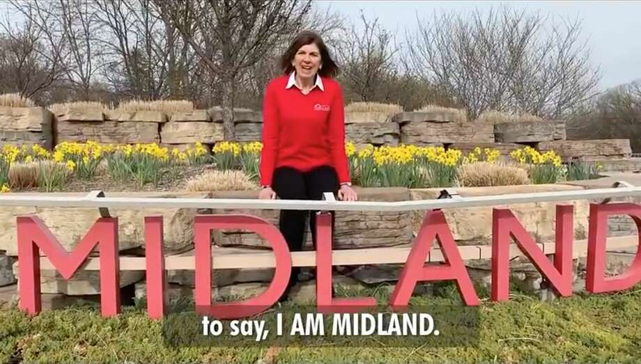 """A screenshot from a collaborative video created as part of Red Threads' """"I Am Midland"""" campaign. Photo: (Photo Provided)"""