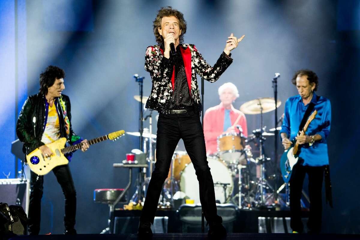 The Rolling Stones in concert in 2019.
