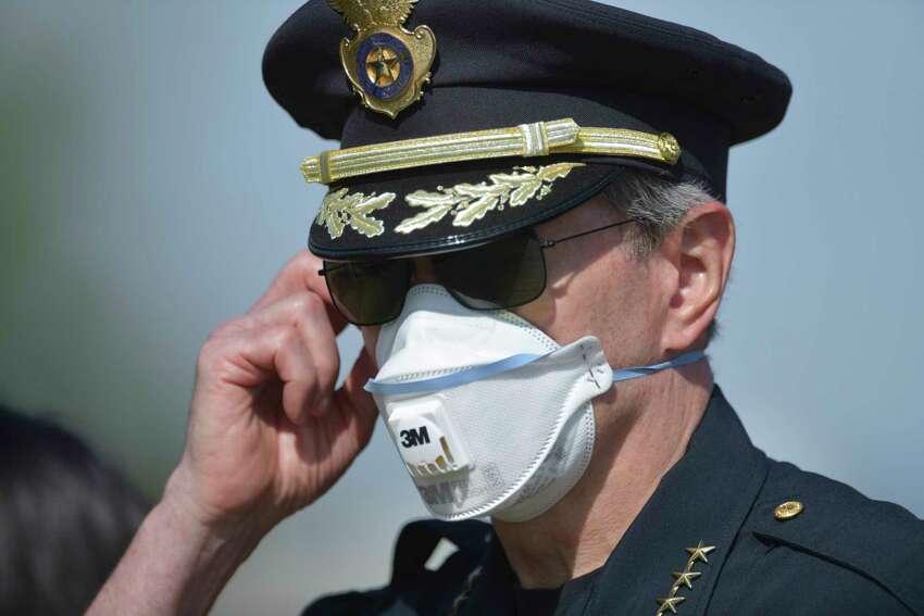 San Antonio Police Chief William McManus.