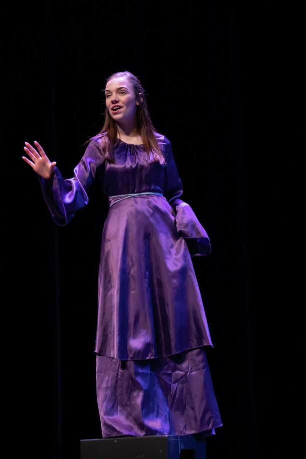 Stella Withrow, 14, has been acceptedfreshmen musical theater major next fall atKinder High School for the Performing and Visual Arts. Photo: Courtesy Stella Withrow