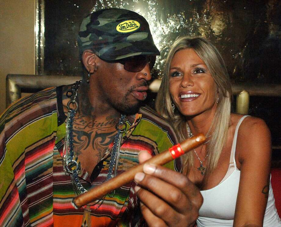 PHOTOS: Dennis Rodman partying in Las Vegas through the years