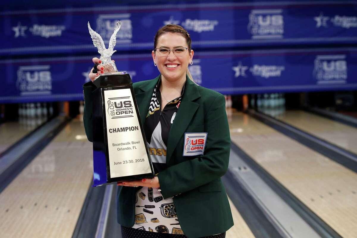2018 U.S. Women's Open champion Liz Kuhlkin of Rotterdam.