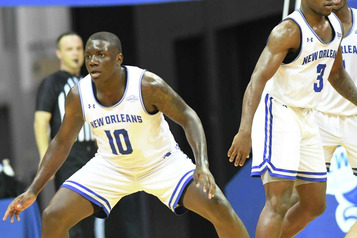 Gerrale Gates, who after two seasons at the University of New Orleans is transferring to play basketball at UAlbany