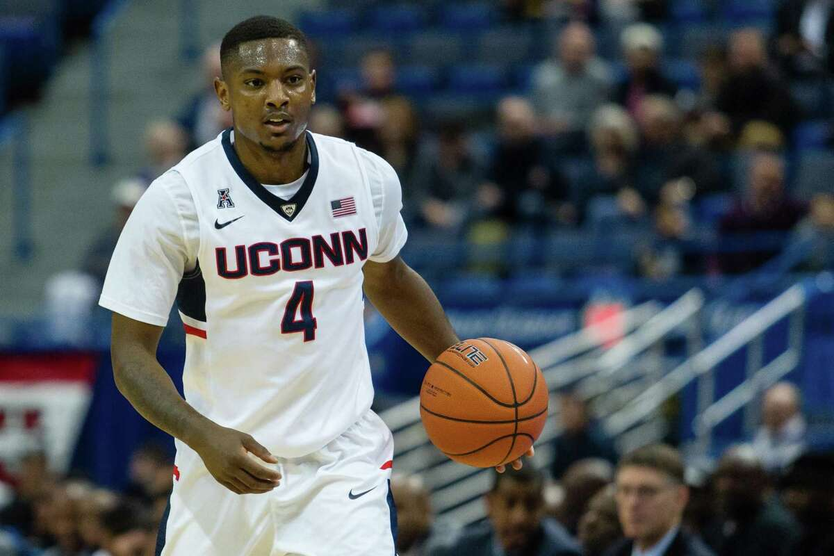 Former UConn guard Sterling Gibbs has recovered from a battle with COVID-19 and is excited for the birth of his first child, due in June.