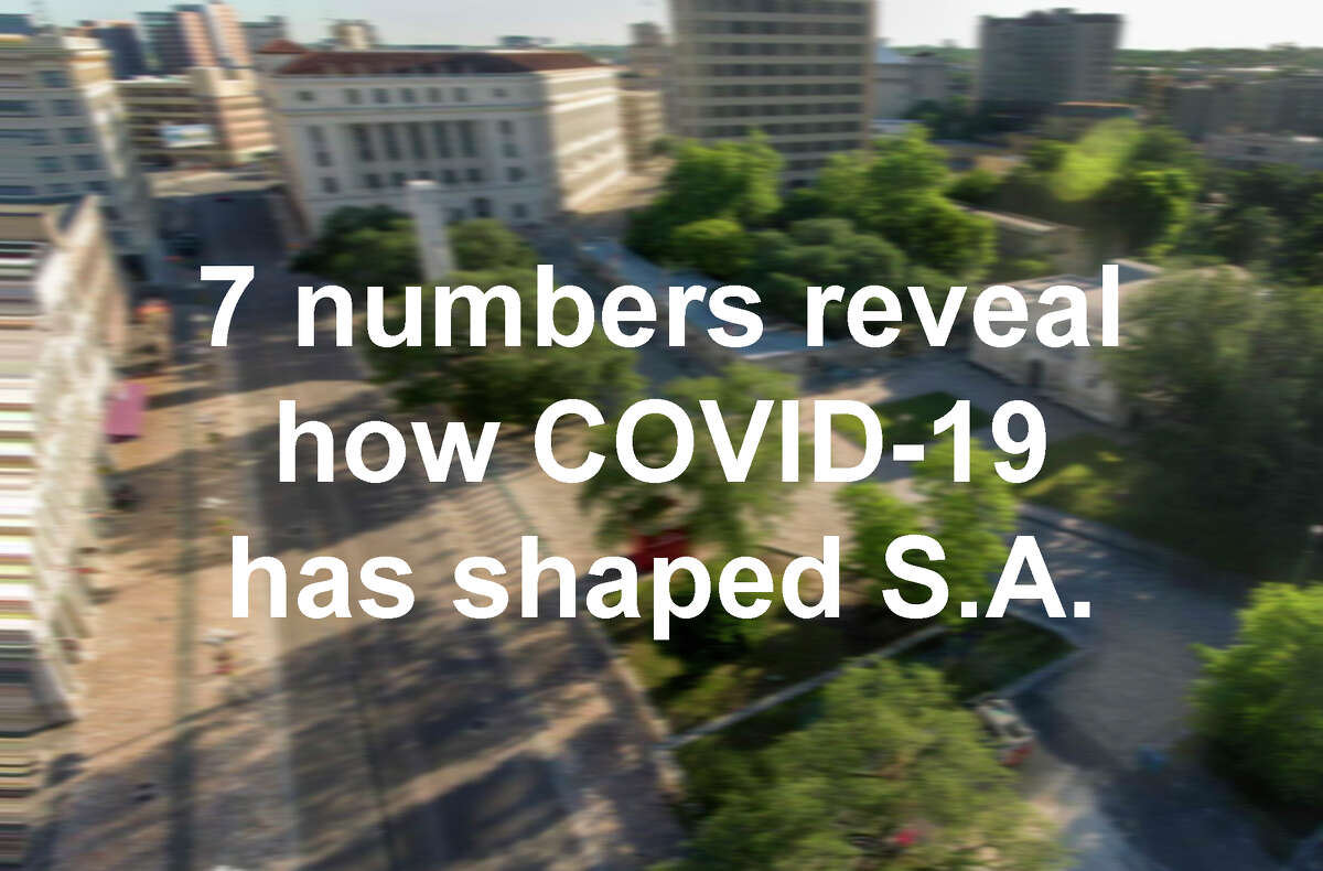 Click through for slideshow >> 7 numbers reveal how COVID-19 has changed San Antonio