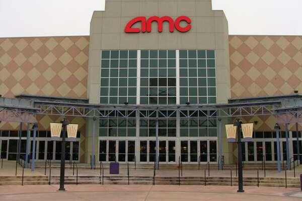 The exterior of AMC Studio 30 in Houston.