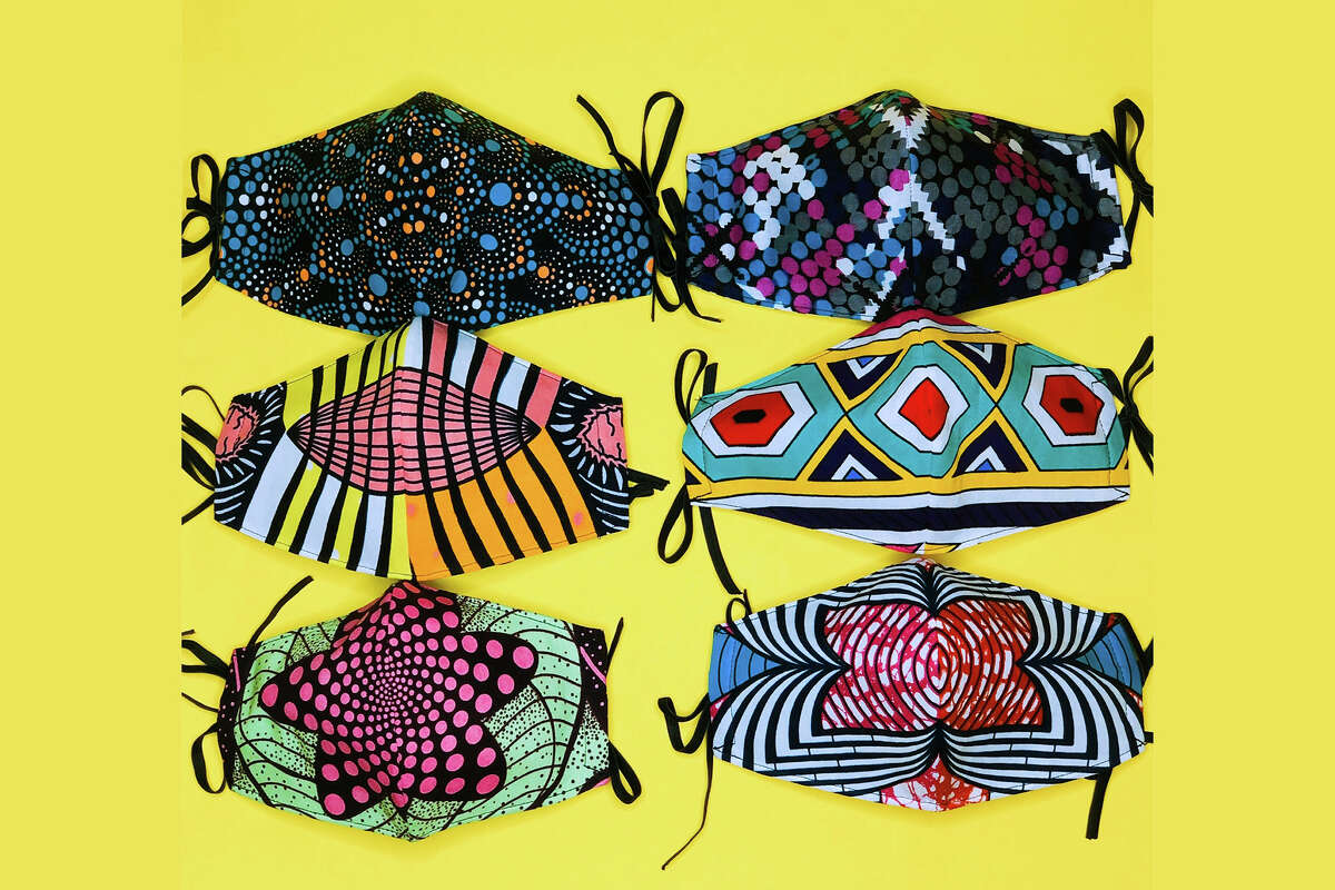 SONSON SONSON, a bowtie brand from Oakland, sells three-layer reversible masks in fun prints for $24.65 as well as regular non-reversible masks for $9.25-$15. They also send mask care packages to hospitals around the country.