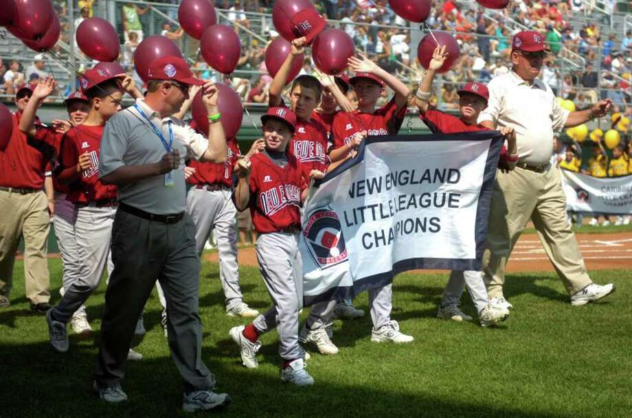 The opening ceremony of the Little League World Series at Volunteer Stadium in Williamsport, Penn., on Friday, August 20, 2010. Photo: Lindsay Niegelberg / Connecticut Post