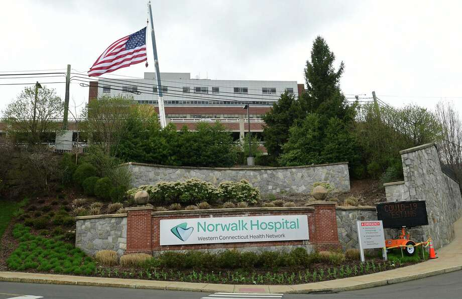Norwalk and Danbury hospitals are set to become among the first in the state to collect and use the plasma that experts say could help patients fight the coronavirus. (Photo April 8, 2020, in Norwalk, Conn.) Photo: Erik Trautmann / Hearst Connecticut Media / Norwalk Hour