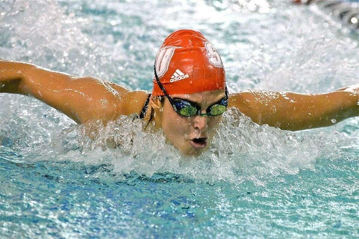 Sacred Heart swimmerBryana Cielo.