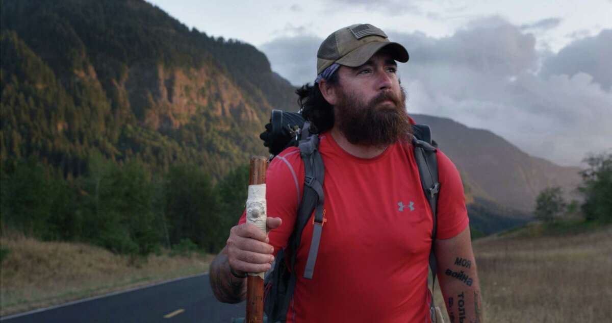 """""""Bastards' Row"""" is a documentary film by Brian Morrison that follows a troubled former Marine who walks 6,000 miles across the country to visit former comrades. His film will be included in the Greenwich International Film Festival's 2020 screenings."""