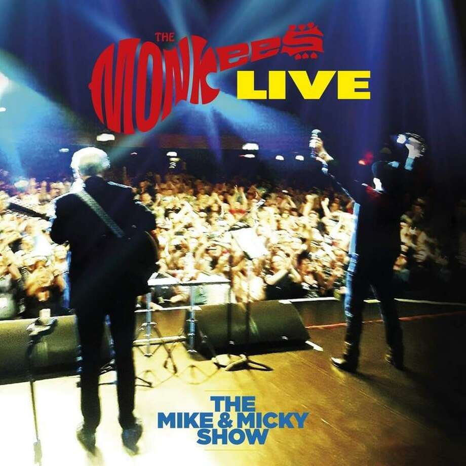 """Monkees bandmates Micky Dolenz and Michael Nesmith released a new album """"The Mike & Micky Show Live"""" on April 10. Photo: Contributed Photo"""