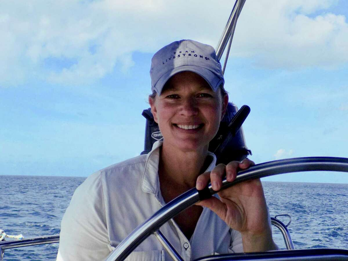 """Author Amity Gaige took to the waves and learned how to sail as part of her research when she wrote """"Sea Wife."""""""