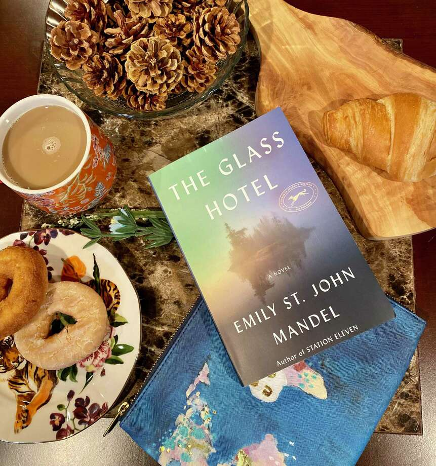 """The Glass Hotel"" by Emily St. John Mandel is about a Ponzi scheme. Photo: TinaMarie Craven / Hearst Connecticut Media /"