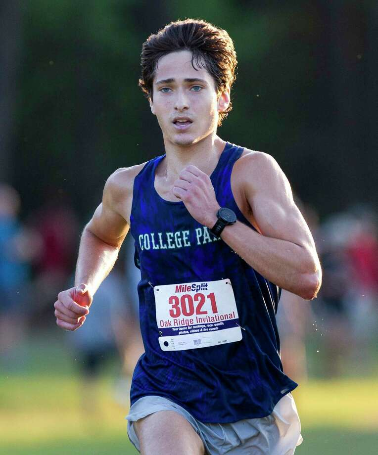 Ben Black of College Park finished third overall during in the Oak Ridge Cross Country Invitational at Oak Ridge High School, Saturday, Sept. 7, 2019. Photo: Jason Fochtman, Houston Chronicle / Staff Photographer / Houston Chronicle