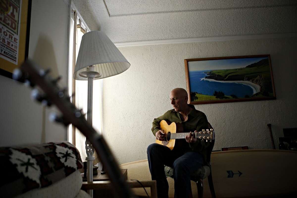 San Francisco Giants third base coach and musician Tim Flannery photographed in his home on Thursday, August 23, 2012 in San Francisco, Calif.
