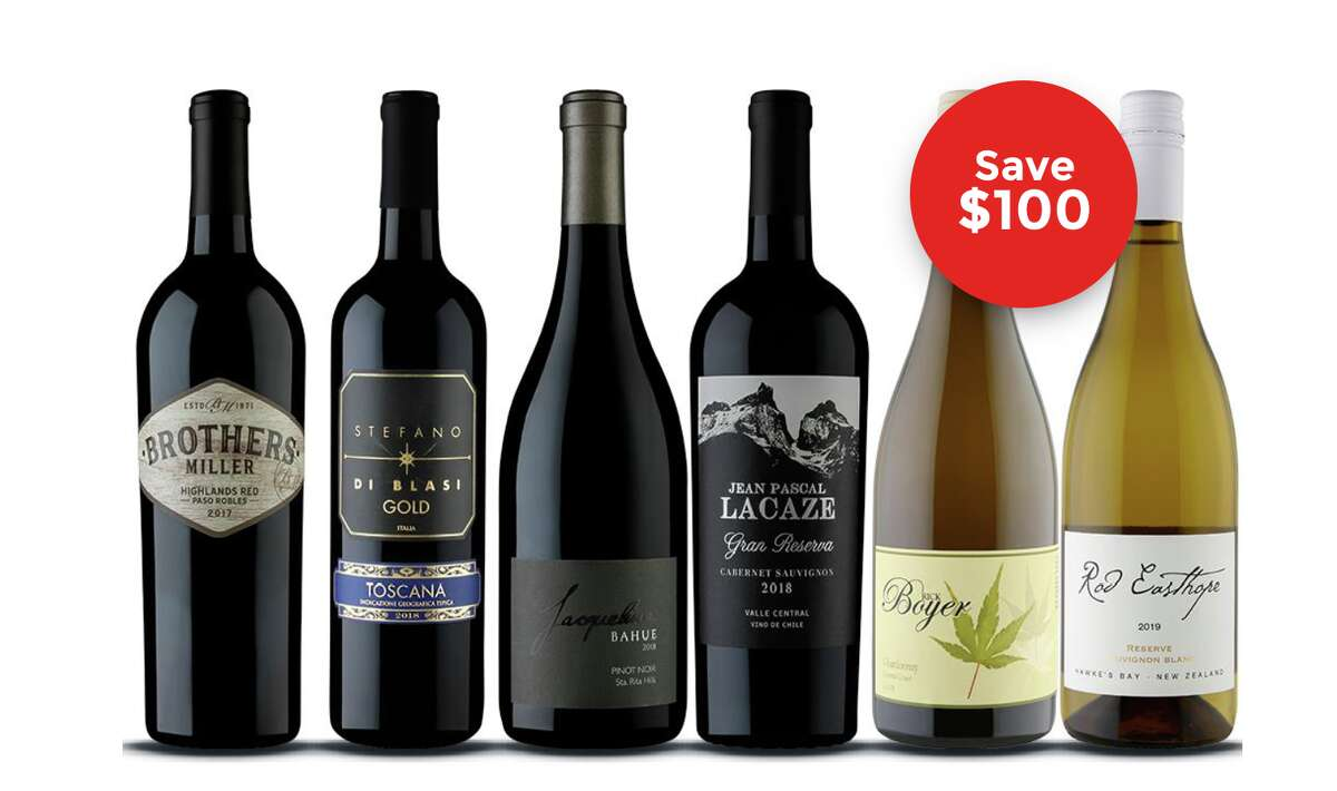 Naked Wines If you're looking to sign your mom up for a gift that keeps on giving, you can sign her up for Naked Wines. You can get six bottles of quality wine for $100, plus save 60% on future orders, and add $40 into your Baked Wines piggy bank.