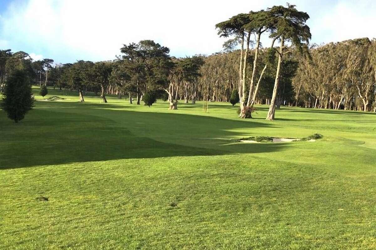 The Presidio Golf Course.