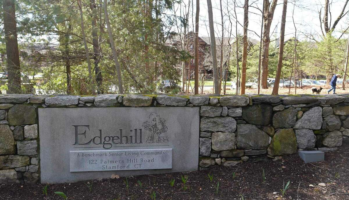 Edgehill, a Benchmark Senior Living Community in Stamford, Connecticut on March 24, 2020.
