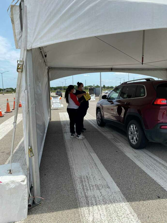 Fort Bend County opened a COVID-19 testing site in the Sugar Land area in late April. Photo: Courtesy Of Fort Bend County