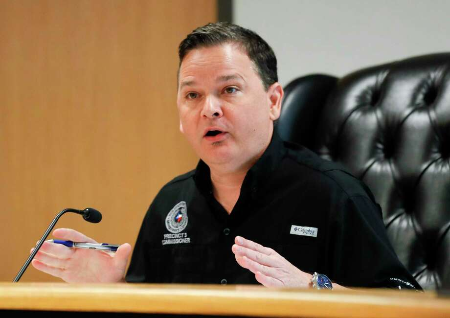 Precinct 3 Commissioner James Noack got full support Monday on a plan to provide residents with a $500 stimulus check as the Montgomery County Commissioners Court directed the County's Attorney's Office to create a resolution to implement the plan amid the COVID-19 pandemic. Photo: Jason Fochtman, Houston Chronicle / Staff Photographer / 2020 © Houston Chronicle
