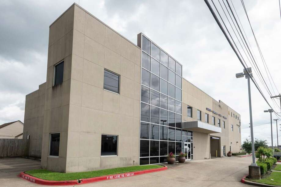 Riceland has offered their surgical center at 390 N. 11th St. to the county as an overflow facility in case local hospitals are overwhelmed by Covid-19 patients. Photo made on April 3, 2020. Fran Ruchalski/The Enterprise Photo: Fran Ruchalski, The Enterprise / The Enterprise / © 2020 The Beaumont Enterprise