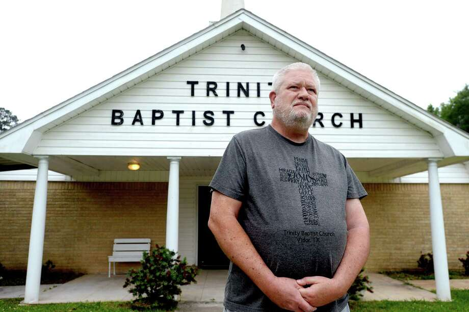 Pastor Marvin Fuller will hold his first serrvice at Trinity Baptist Church in Vidor this Sunday. Photo taken Tuesday, April 28, 2020 Kim Brent/The Enterprise Photo: Kim Brent / The Enterprise / BEN