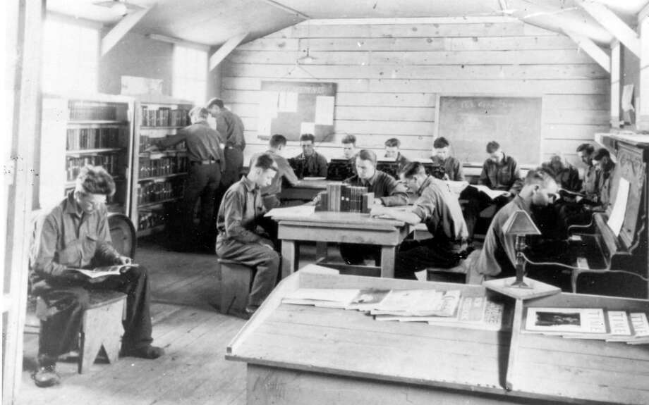 In the 1930s the Civilian Conservation Corps were very active in the Manistee County area out of the Chittenden Nursery in the Wellston area.