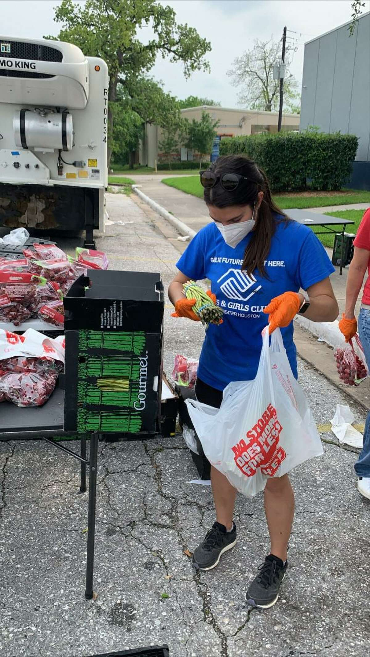 The Boy and Girls Club of Greater Houston distributes meals to families in need through approved locations in order to ensure these children get the food they need.