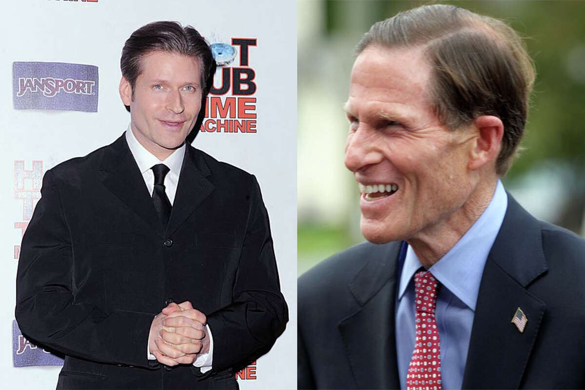 Crispin Glover as U.S. Senator Richard Blumenthal  As seen in: 'Back to the Future,' 'American Gods,' 'Alice in Wonderland'
