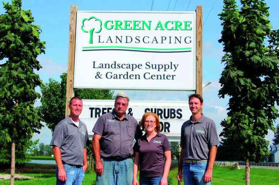 Green Acre Landscaping owners Kyle, Bernie, Mary and Eric Sweeney are proud to be open for business. (Courtesy Photo)