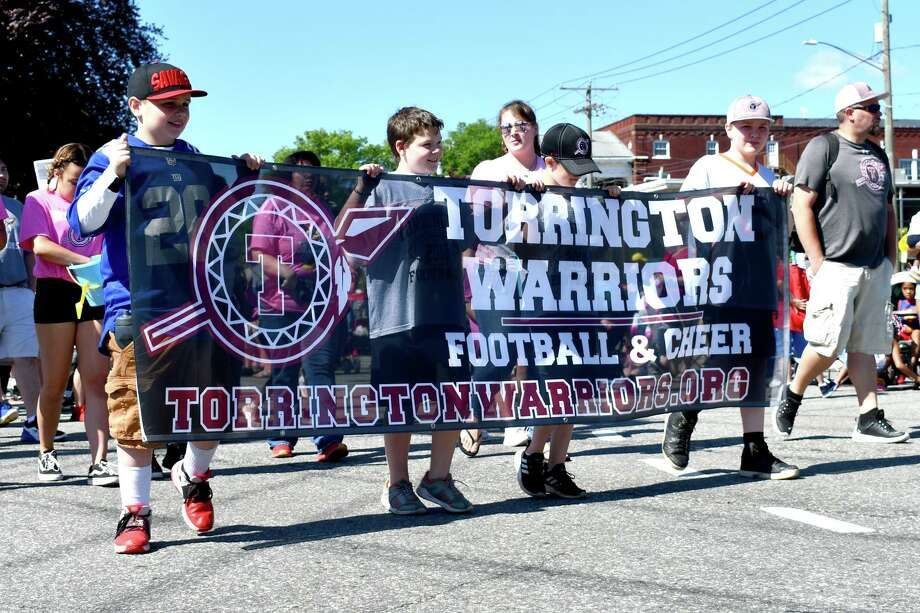 Torrington held its annual Memorial Day parade in 2019. This year's parade has been canceled because of the coronavirus pandemic. Photo: Lara Green-Kazlauskas / For Hearst Connecticut Media /