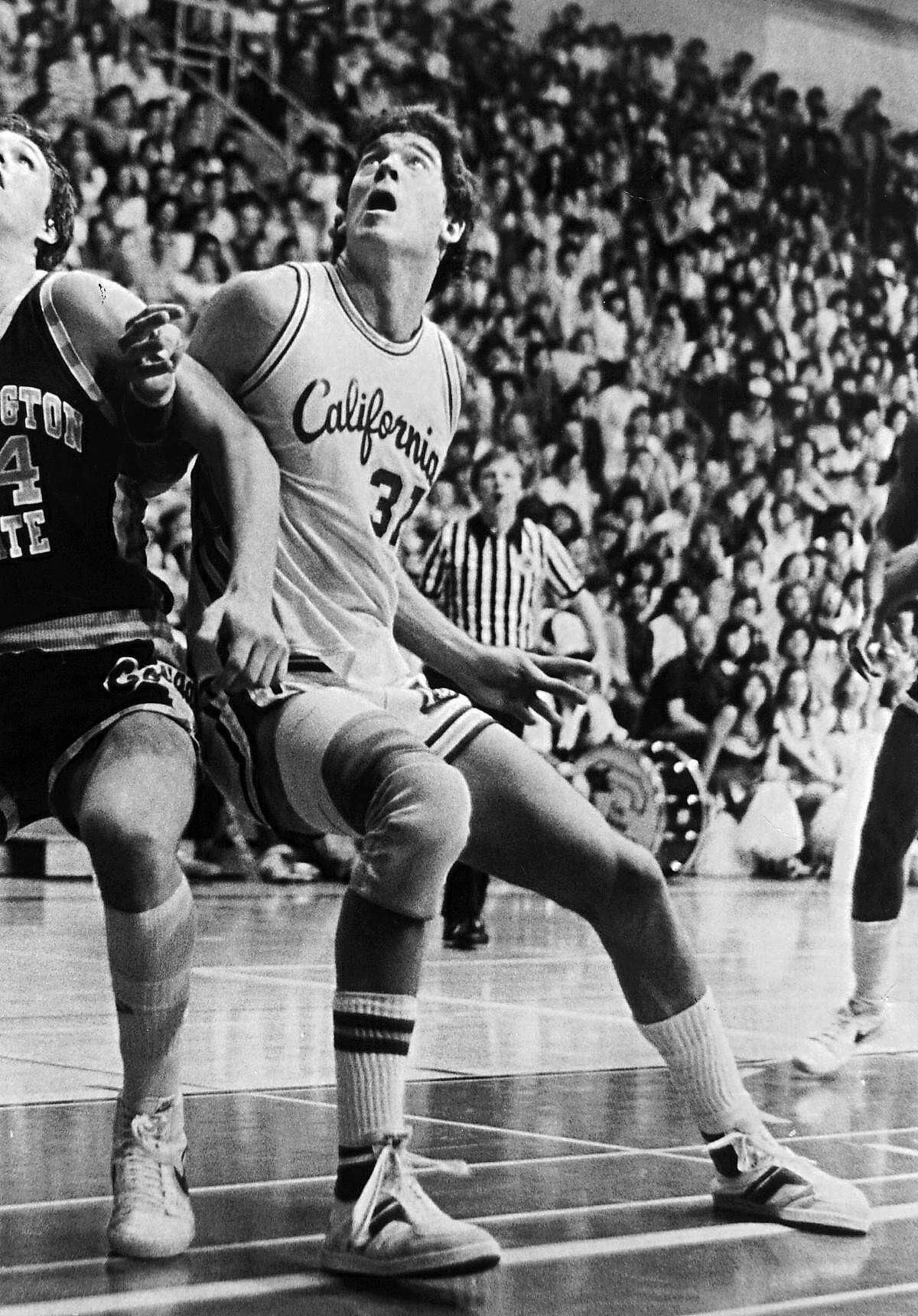 Mark McNamara played two seasons -- 1980-81 and 1981-82 -- at Cal.