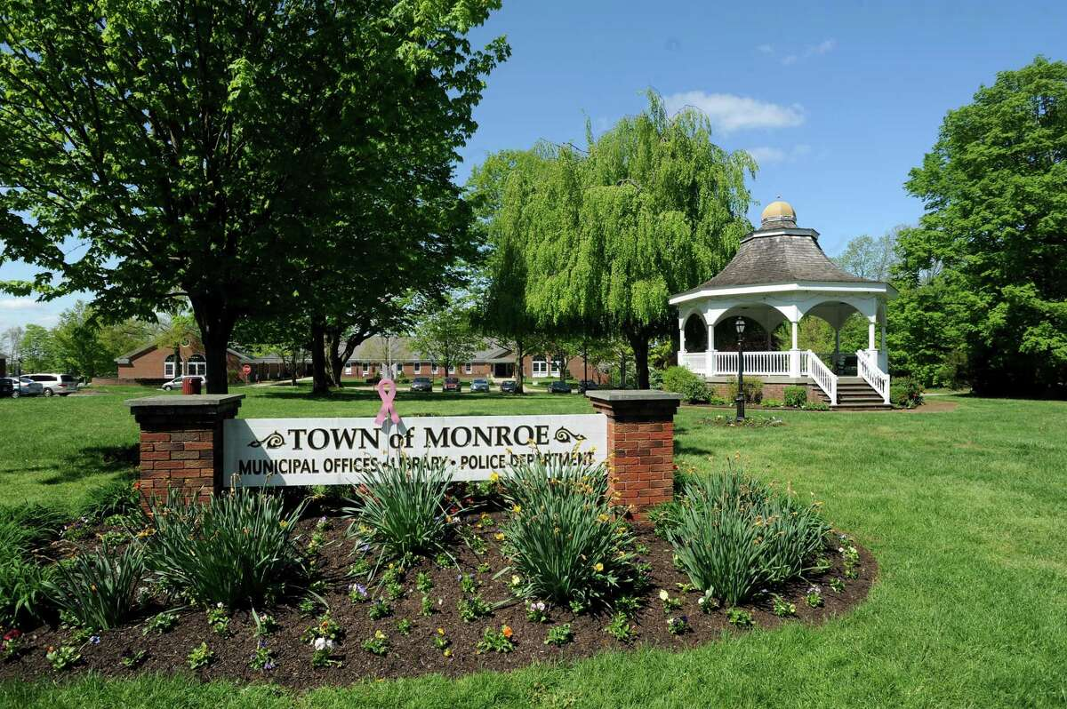 Monroe Town Hall Offices at 7 Fan Hill Road in Monroe, Conn. on Monday May 13, 2013.