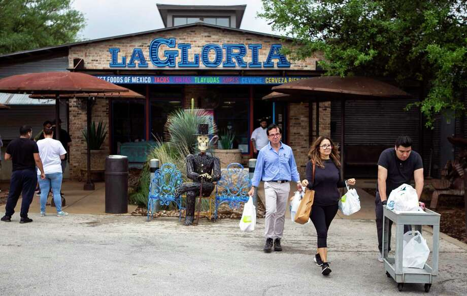 "Starting Friday, restaurants are allowed to expand their occupancy levels to 75 percent as part of Phase 3 of Gov. Greg Abbott's ""Open Texas"" plan. La Gloria near the Pearl is shown in the photo. Photo: Josie Norris /Staff Photographer / **MANDATORY CREDIT FOR PHOTOG AND SAN ANTONIO EXPRESS-NEWS/NO SALES/MAGS OUT/TV"