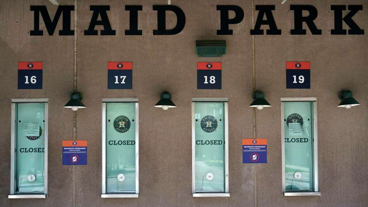 The Astros' email to season ticket holders Thursday did not include how to obtain a refund but a team spokesperson said ticket holders can request refunds through the ticket office.