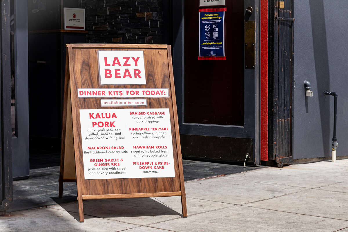 Michelin star restaurant Lazy Bear is available for takeout amid the extended shelter-in-place orders.