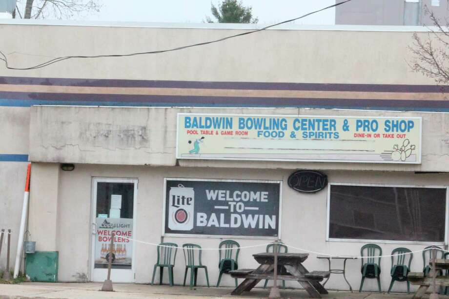 Baldwin Bowling Center owner Nick Miller hopes to reopen sometime in the future. (Star photo/John Raffel)