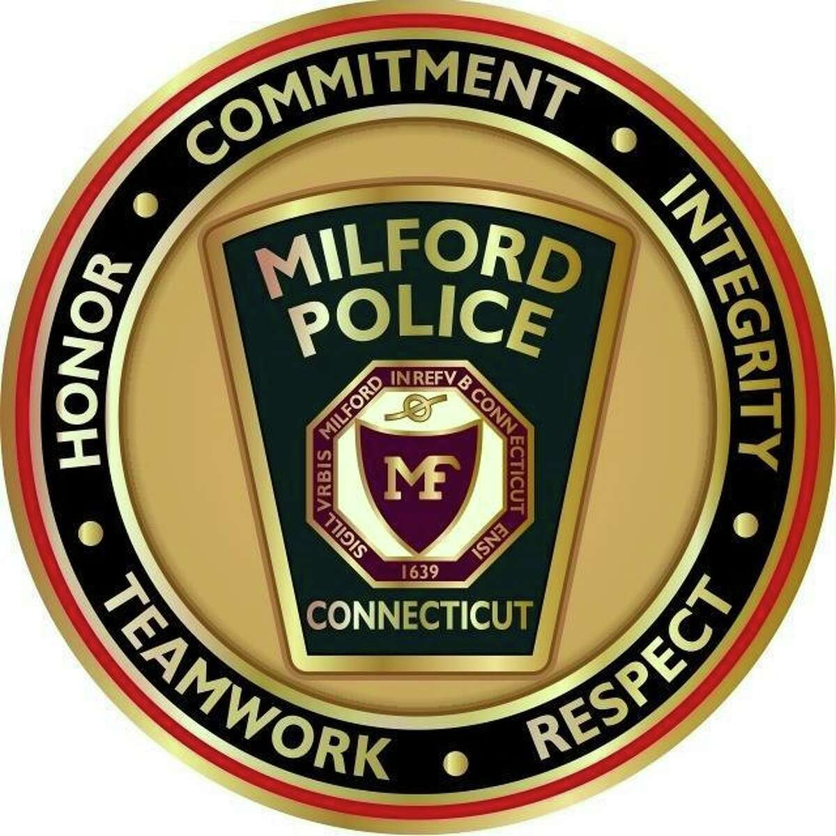 The Milford Police Department seal.