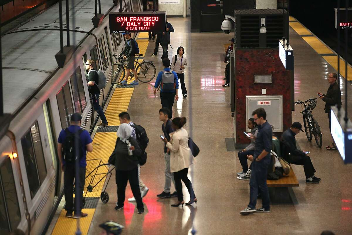 View of Lake Merritt BART station on Tuesday, August 29, 2017, in Oakland, Calif.