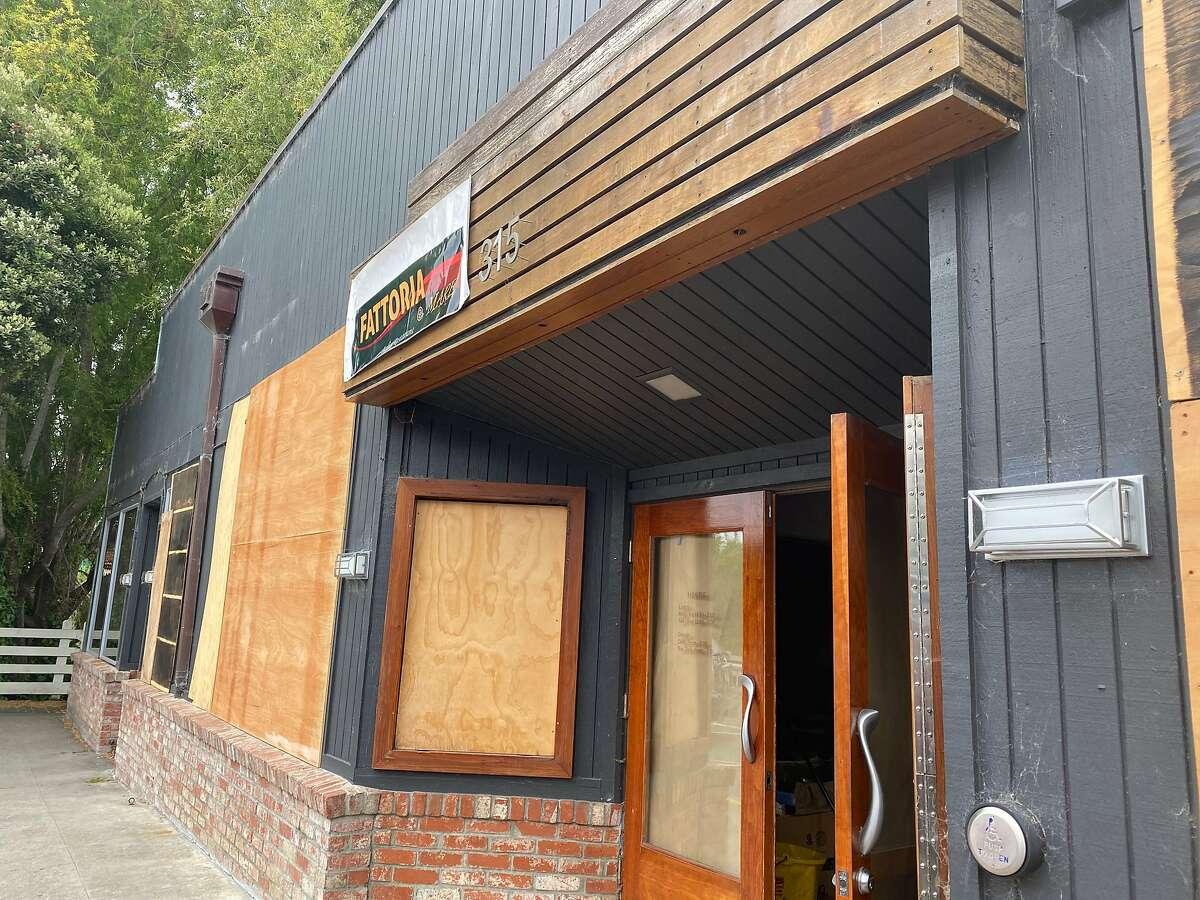 The future site ofFattoria e Mare, the Burlingame Italian restaurant moving to Half Moon Bay.