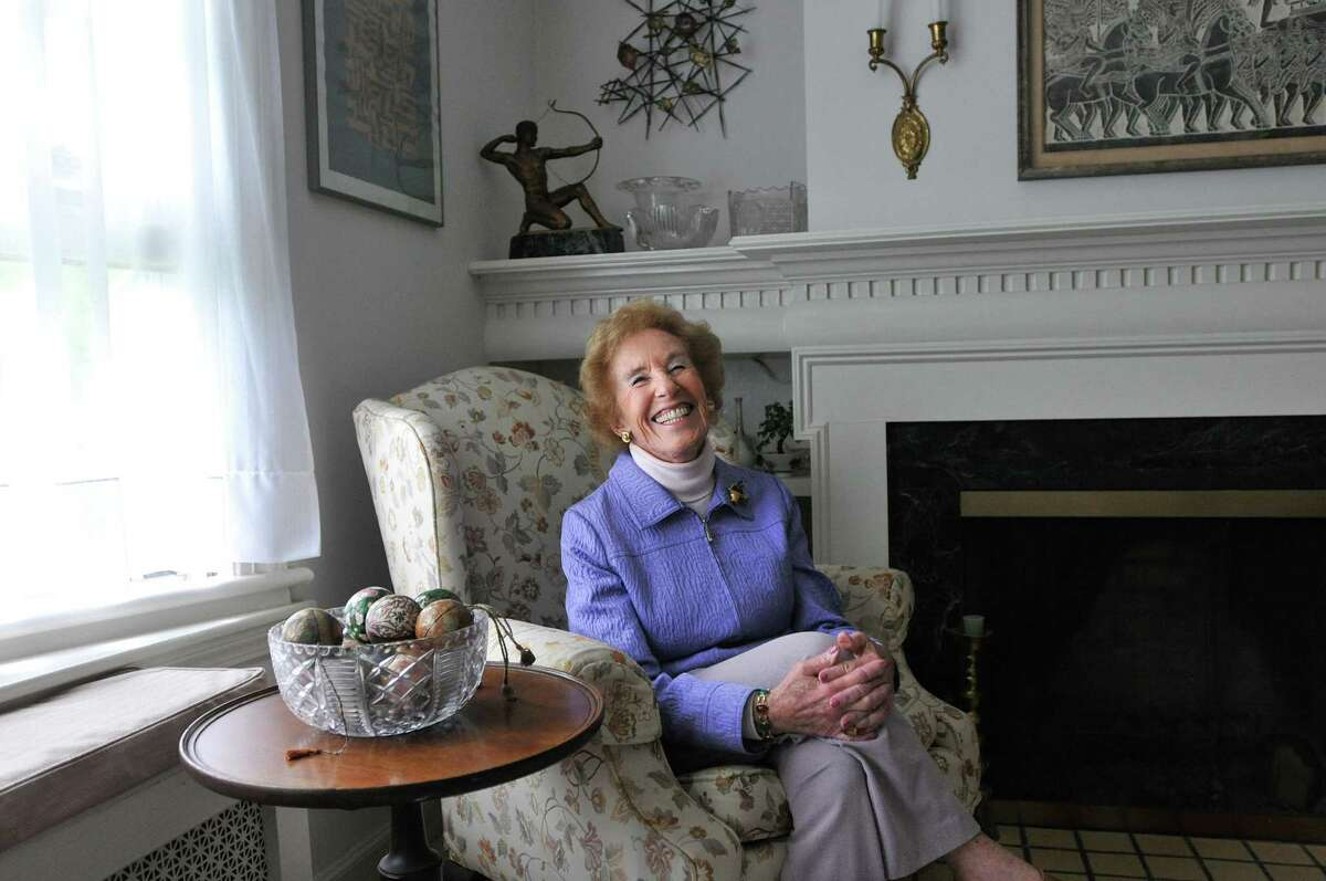 Louise Endel spent much of her life serving others and has served on over 58 boards in the New Haven area.