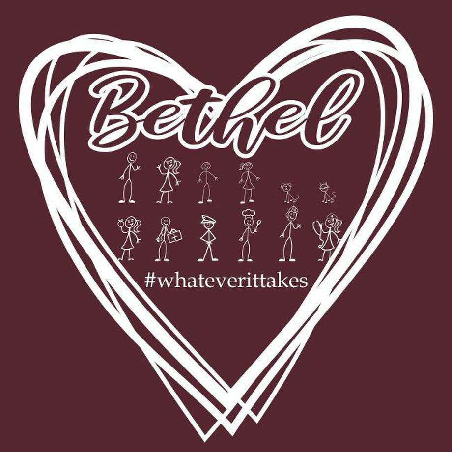 The Bethel High School All Sports Booster Club is selling the shirts, with proceeds going toward Bethel Social Services and the Bethel Community Food Pantry. Photo: Contributed Photo